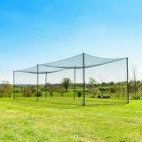 FORTRESS Ultimate Baseball Batting Cage & Poles - 9ft x 10ft x 35ft
