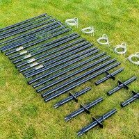 FORTRESS Ultimate Batting Cage Poles - 6 Pack