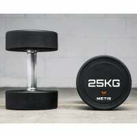METIS Pro Commercial Dumbbells [22lbs Pair]