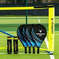Vermont ProCourt Mini Tennis Net & Racket Set [30ft / Kids]