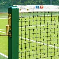 Vermont 3mm Tennis Net [12,8m Doubles - 6,5kg] - Loop & Pin
