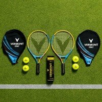 Vermont Tennis Racket & Ball Set [Vermont Colt - 19in]