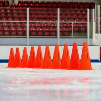 30cm FORZA Ice Hockey Marker Cones [Pack Of 10]