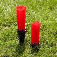 Red Wembley Grass Marking Tufts/Carrots [pack of 25]