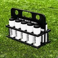 10 White Water Bottles (750ml) & Foldable Bottle Carrier