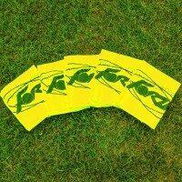 FORZA Pro Chasubles/Maillots d'Entraînement de Rugby Jaunes [Pack de 10 - XL]