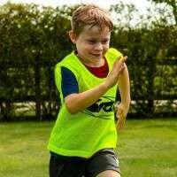 Petos de Fútbol para entrenamientos FORZA Pro [Junior] – Pack de 15 amarillos