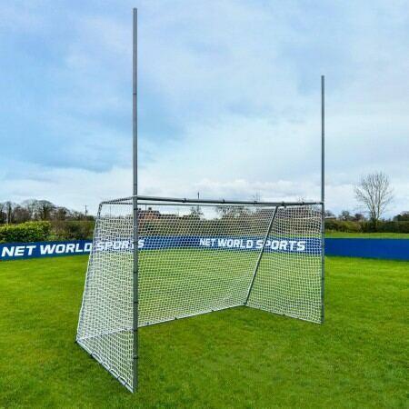 3m x 1.8m FORZA Steel42 Gaelic & Hurling Goal