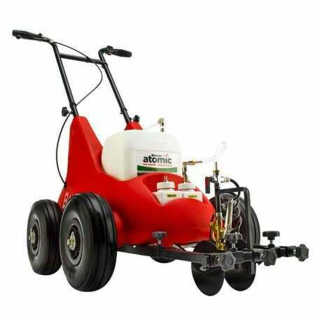 Atom Electric Spray Line Marking Machine - For Sports Pitches