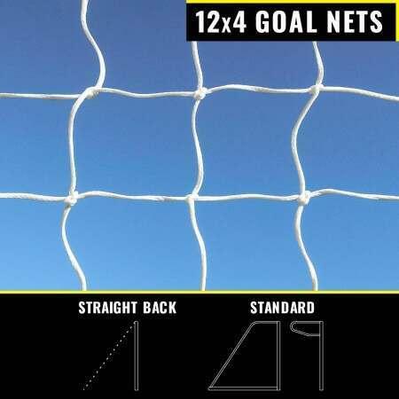 12 x 4 Replacement Football Goal Nets