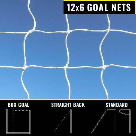 12 x 6 Replacement Soccer Goal Nets