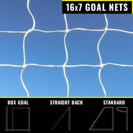 16 x 7 Replacement Football Goal Nets