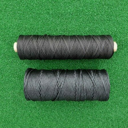 2mm / 4mm Net Repair & Lacing Tie Twine (Black)