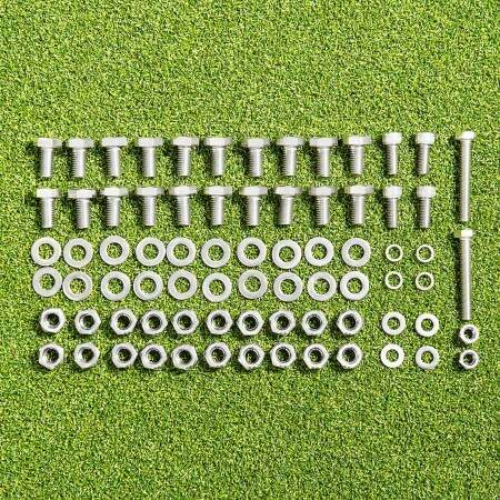 Nuts And Bolts Packs For FORZA Alu60 Goals (All Sizes)