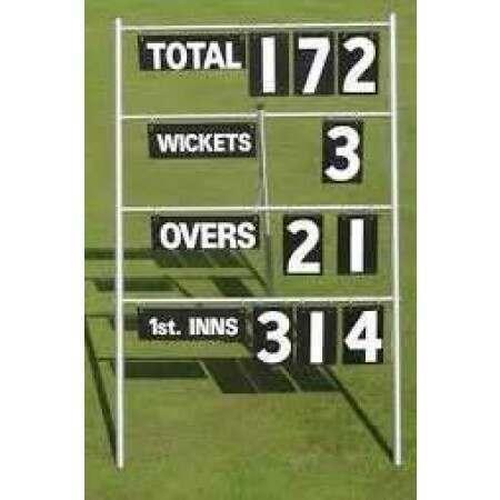Portable Cricket Scoreboard [4 Lines]
