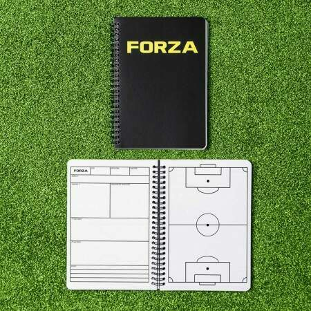 FORZA Soccer Coaches Notebook [A4/A5]