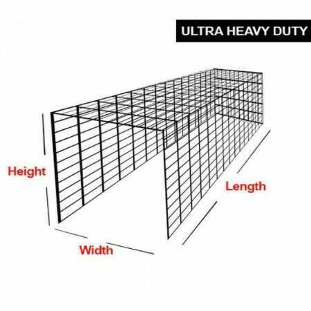Ultra Heavy Duty Drop-In Cricket Nets