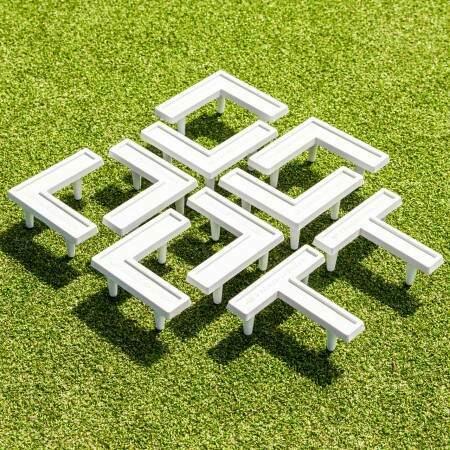 Grass Football Pitch Line Marking Pins