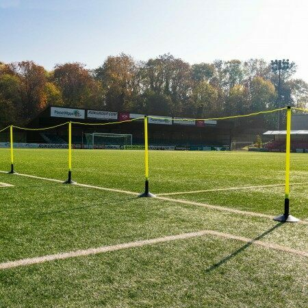 FORZA Football Astroturf Crowd Control Barrier [Includes Bases]