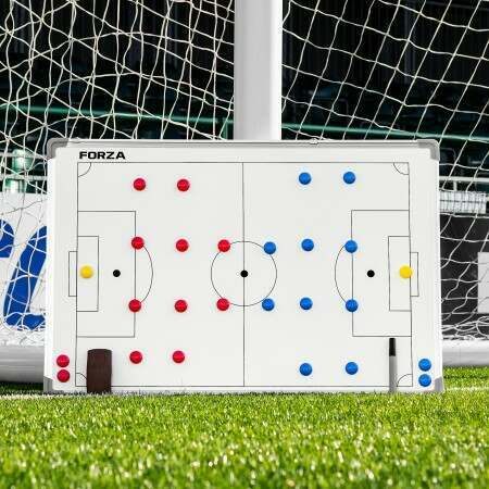 FORZA 90cm x 60cm Double-Sided Sport Coaching Board [10 Sports Available]