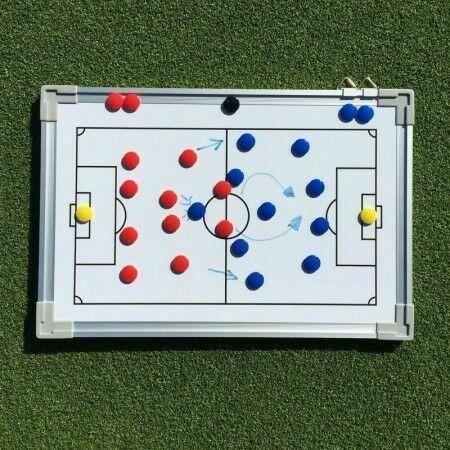 45cm x 30cm Football Tactics/Coaching Board