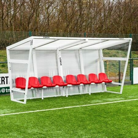 FORZA Aluminium Football Team Shelter