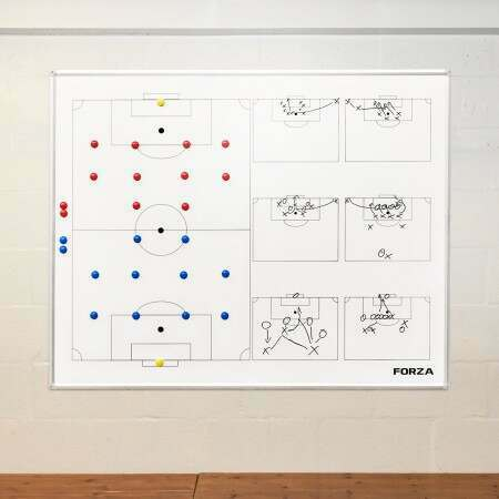 FORZA Wall Mounted Soccer Coaching Board - 5ft x 4ft