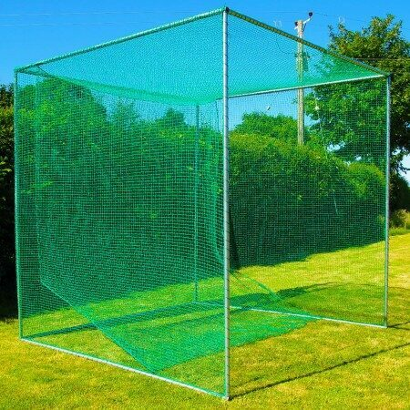 Freestanding Golf Cage & Net - Professional Range