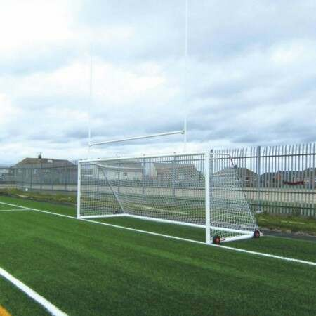 Freestanding Aluminium Soccer & Rugby Combination Goals