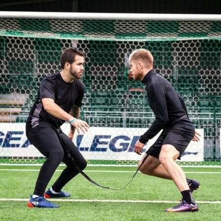 Soccer Evasion Training Belt