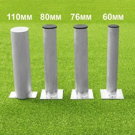 Ground Sockets For Football Goals [Pair]