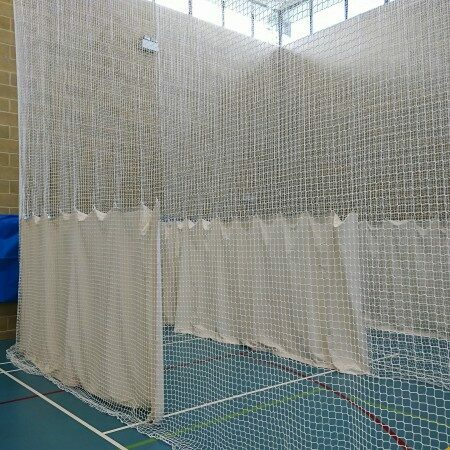 Custom Size Indoor Cricket Nets