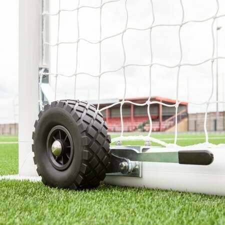 FORZA Alu110 Football Goal Wheels (Lever And 360° Wheels)