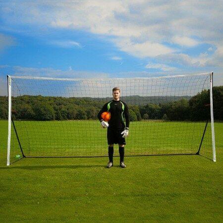 4.9m x 2.1m Kickster Football Goal - Academy