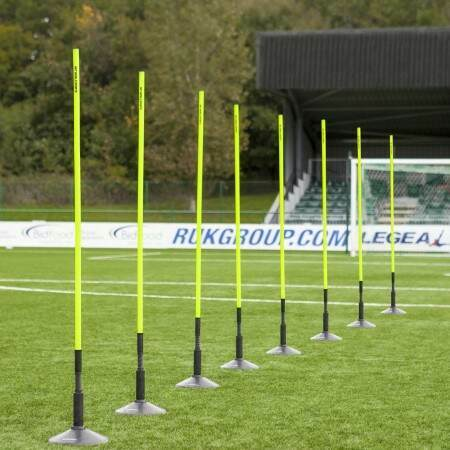 FORZA ASTRO Slalom Poles With Bases [1.5m or 1.8m High]