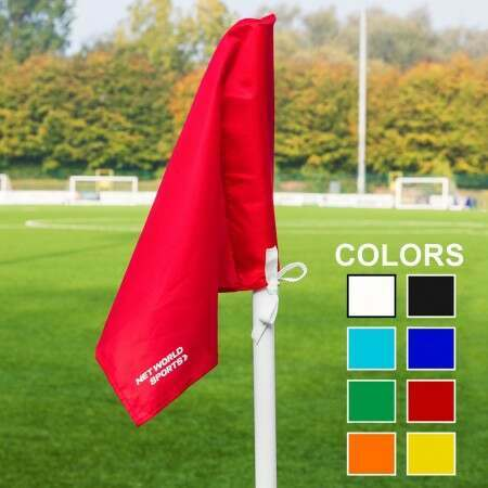 Coloured Corner Flags (4 Pack) [8x Colors]