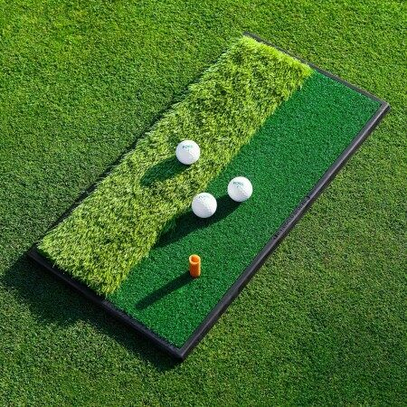 FORB Launch Pad Golf Practice Mat – Dual Side