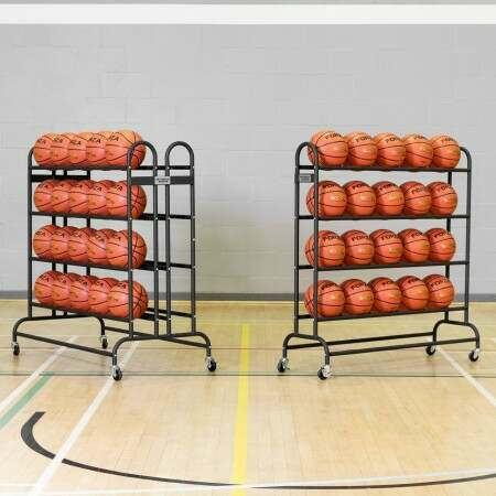 Freestanding Portable Sports Ball Trolley [20/40 Balls]