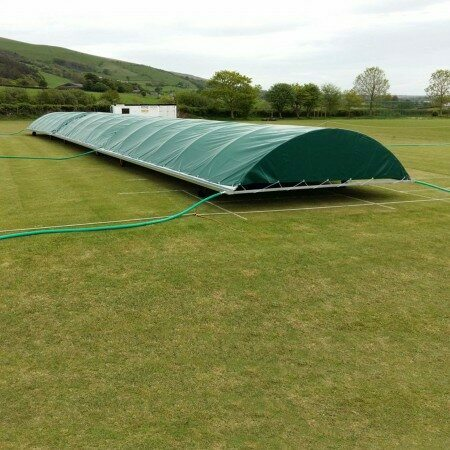 Mobile Cricket Pitch Covers [Club/ Dome Shaped]