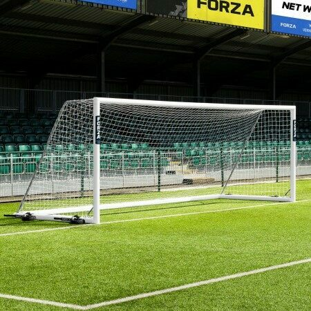 21 x 7 FORZA Alu110 Freestanding Football Goal