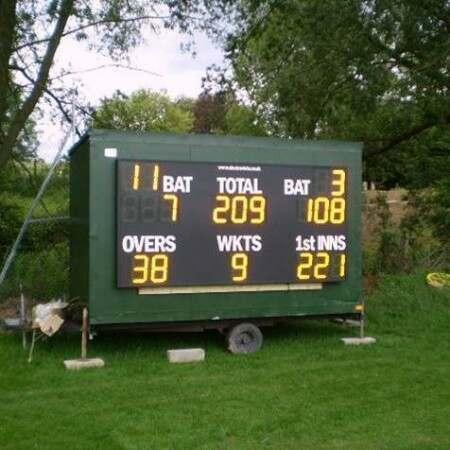 Premier Electronic Cricket Scoreboard [Batsman ID]