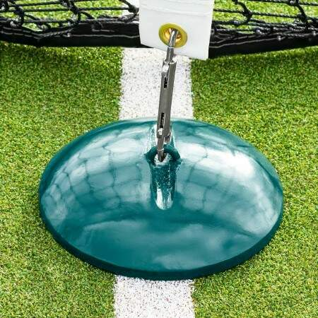 Peso Base para Fijar Correa Central de Red de Tenis