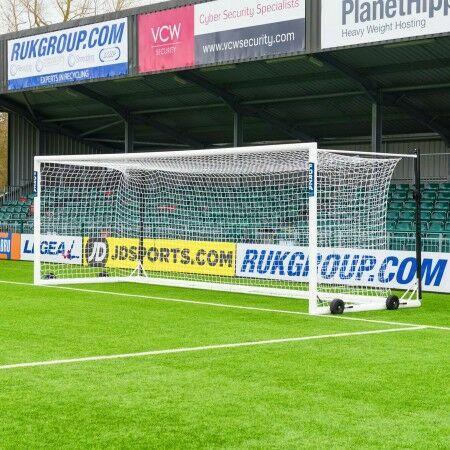 24 x 8 FORZA Alu110 Freestanding Stadium Box Soccer Goal