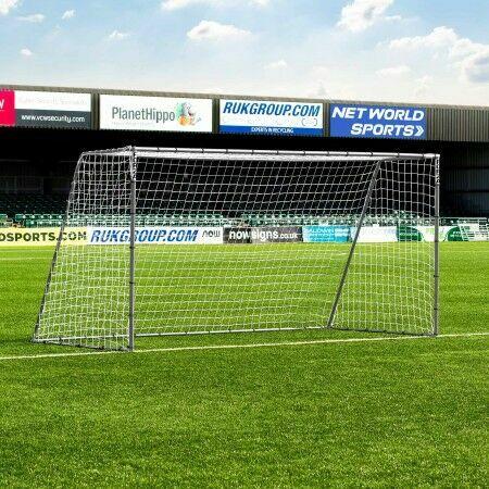 3.7m x 1.8m FORZA Steel42 Soccer Goal