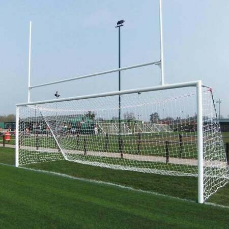 Socketed Aluminium Soccer & Rugby Combination Goals