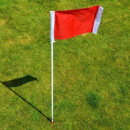 Rugby Corner Flags & Poles Set