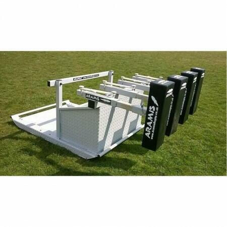 Kiwi Sled Scrum Machine With Reactive Arms