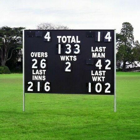 Match Wooden Cricket Scoreboard