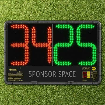 Electronic Soccer Substitutions Board (Premier League Spec)
