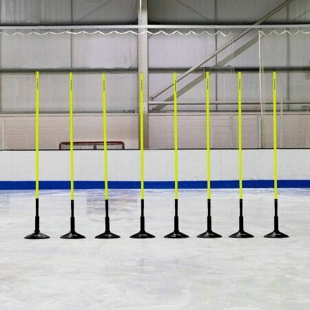 Hockey Training Agility Slalom Poles